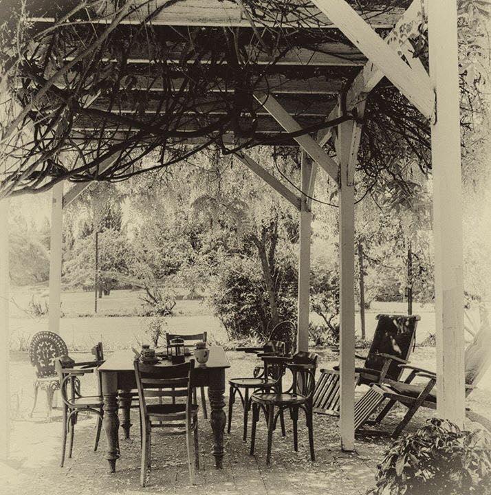 Antique photo at Glen Derwent