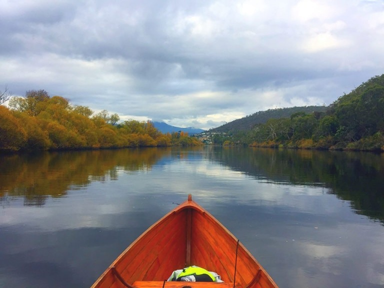 Glen Derwent kayaking