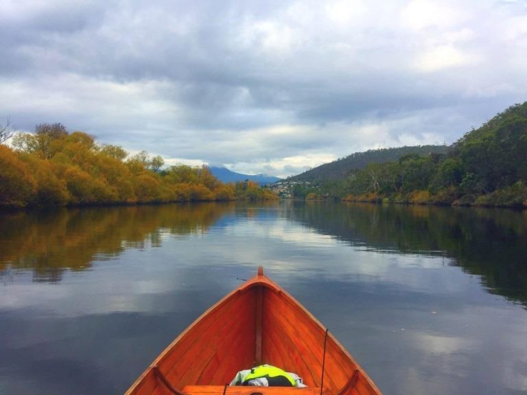 Glen Derwent kayaking